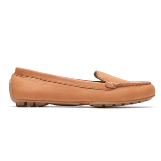 Cambridge Blvd Comfort Driving MocRockport Women's Orange Cambridge Blvd Comfort Driving Moc